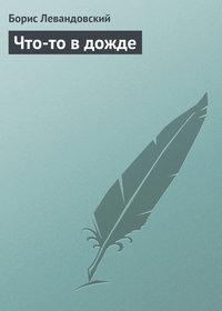 Левандовский, Борис  - Что-то в дожде