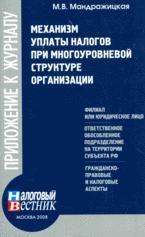 Механизм уплаты налогов при многоуровневой структуре организации LitRes.ru 19.000