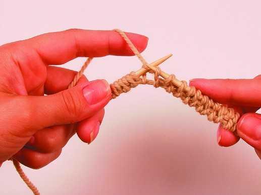 Как набрать нить для вязания 168