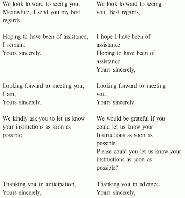 письма знакомства на английском языке