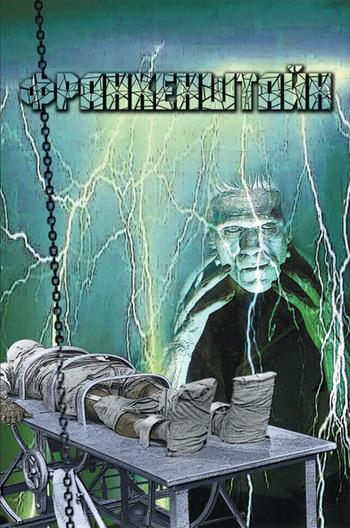 Обложка книги Франкенштайн. Ґотичні повісті (збірник), автор Шелли, Мэри