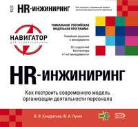 Кондратьев, Вячеслав  - HR-инжиниринг