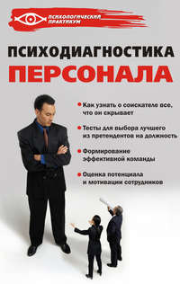 Слепцова, Александра  - Психодиагностика персонала