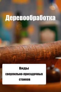 Мельников, Илья  - Виды сверлильно-присадочных станков