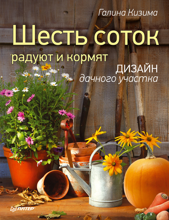 Скачать Галина Кизима бесплатно Шесть соток радуют и кормят. Дизайн дачного участка
