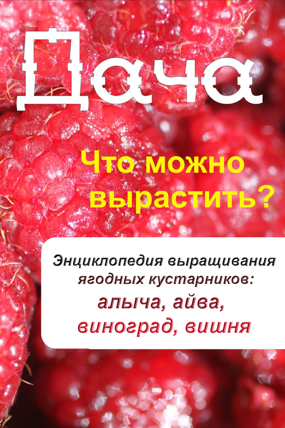 Илья Мельников - Что можно вырастить? Энциклопедия выращивания ягодных кустарников: алыча, айва, виноград, вишня
