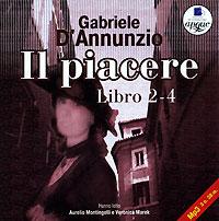 Gabriele D'Annunzio Il Piacere. Libro 2-4 viminale 4 рим