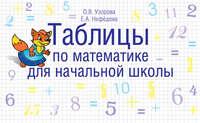 Узорова, О. В.  - Таблицы по математике для начальной школы