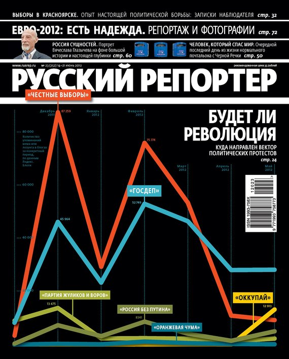 Отсутствует Русский Репортер №23/2012 русский инструмент