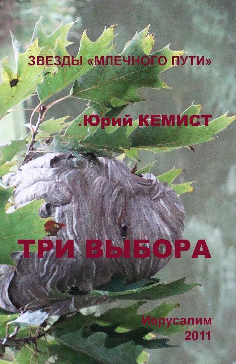 Обложка книги Три выбора, автор Кемист, Юрий