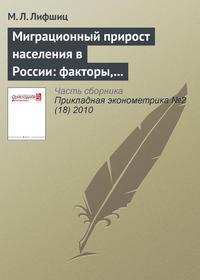 Лифшиц, М. Л.  - Миграционный прирост населения в России: факторы, перспективы, выводы для миграционной политики
