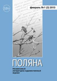 - Поляна №1 (3), февраль 2013
