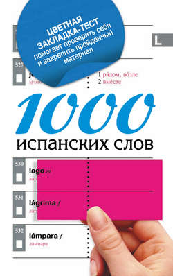 1000 испанских слов. Самый простой самоучитель испанского языка
