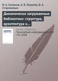 Семёнов, И. А.  - Динамически загружаемые библиотеки: структура, архитектура и применение (часть 1)
