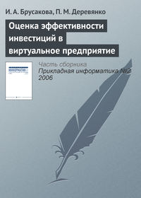 Брусакова, И. А.  - Оценка эффективности инвестиций в виртуальное предприятие