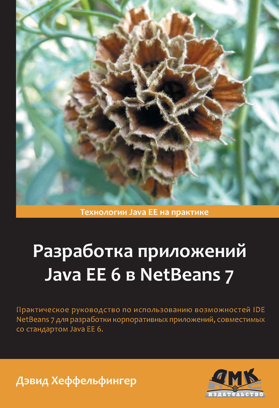 Дэвид Хеффельфингер Разработка приложений Java EE 6 в NetBeans 7 дэвид хеффельфингер java ee 7 и сервер приложений glassfish 4