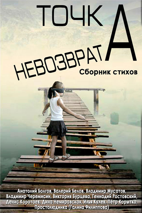 Валерий Белов Точка невозврата. Сборник стихов что можно на 250 гривен в марте 2014
