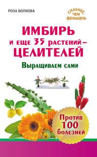 - Имбирь и еще 35 растений-целителей. Выращиваем сами. Против 100 болезней