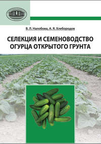 Налобова, В. Л.  - Селекция и семеноводство огурца открытого грунта