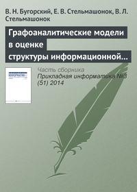 Бугорский, В. Н.  - Графоаналитические модели в оценке структуры информационной системы предприятия