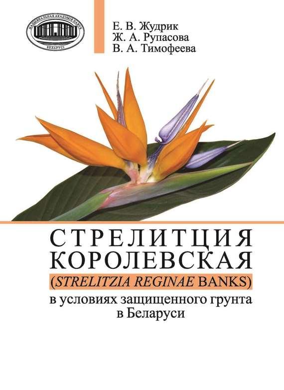 Обложка книги Стрелитция королевская (Strelitzia reginae Banks) в условиях защищенного грунта в Беларуси, автор Рупасова, Ж. А.