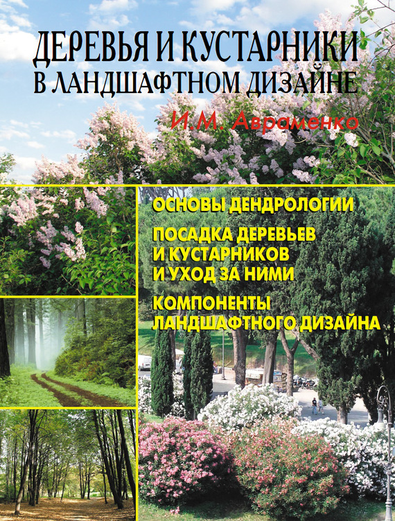 И. М. Авраменко Деревья и кустарники в ландшафтном дизайне авраменко олег евгеньевич первозданная дорога на тир минеган