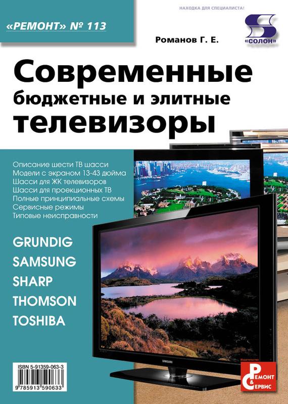 Г. Е. Романов Современные бюджетные и элитные телевизоры вогнутые телевизоры цена