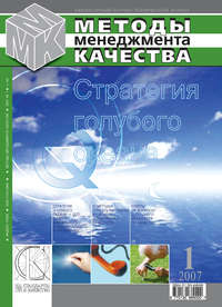 Отсутствует - Методы менеджмента качества № 1 2007