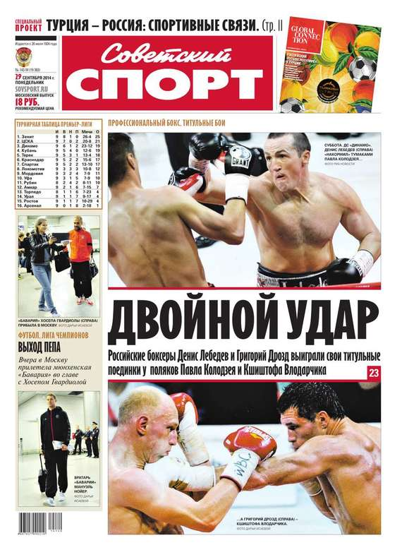 Советский спорт 143м