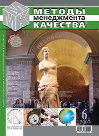 Отсутствует - Методы менеджмента качества № 6 2007