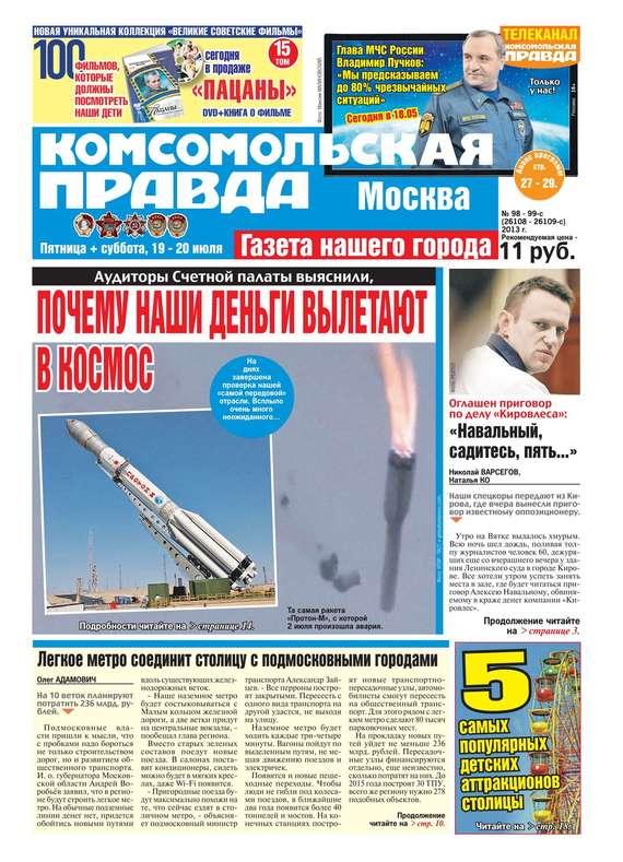 Редакция газеты Комсомольская Правда. Москва