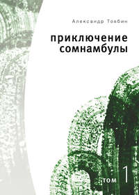Товбин, Александр  - Приключения сомнамбулы. Том 1