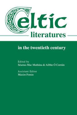 Celtic Literatures in the Twentieth Century