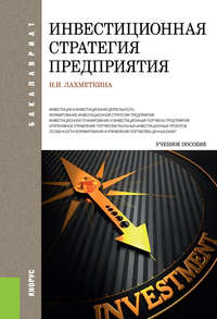 Лахметкина, Наталия Ивановна  - Инвестиционная стратегия предприятия