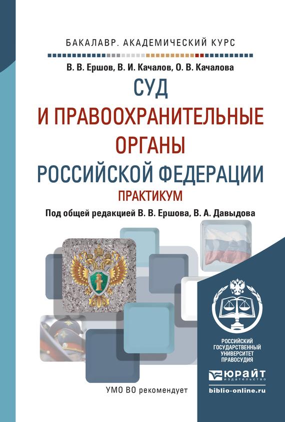 Суд и правоохранительные органы РФ. Практикум. Учебное пособие для академического бакалавриата