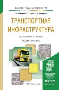Горев, Андрей Эдливич  - Транспортная инфраструктура. Учебник и практикум для академического бакалавриата