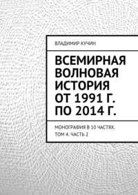 - Всемирная волновая история от 1991 г. по 2014 г.