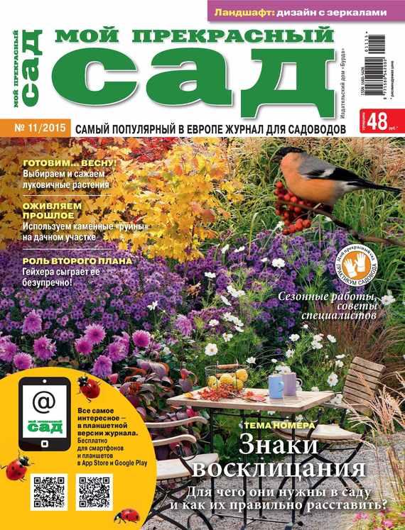 ИД «Бурда» Мой прекрасный сад №11/2015 дача и сад