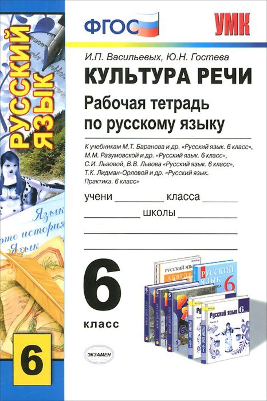 Гдз По Русскому Языку Рабочая Тетрадь 6 Класс Васильевых