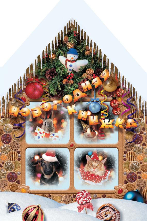 Алена Григорьева Новогодняя книжка айрис пресс игры с прищепками раскраски и головоломки