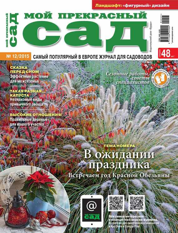 ИД «Бурда» Мой прекрасный сад №12/2015 дача и сад