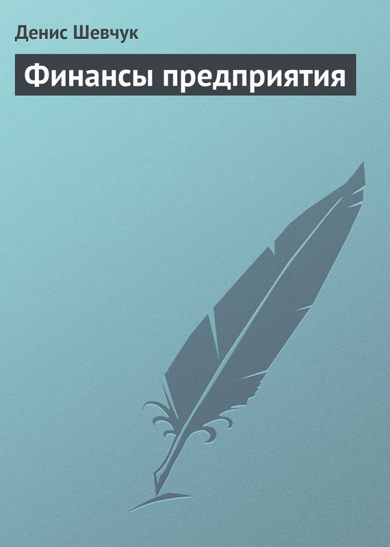Денис Шевчук Финансы предприятия