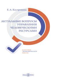 Костромина, Елена  - Актуальные вопросы управления человеческими ресурсами