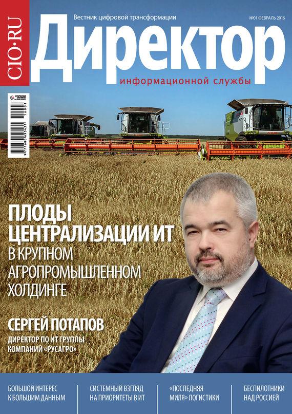 Директор информационной службы №01/2016
