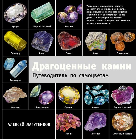 бесплатно Драгоценные камни. Путеводитель по самоцветам Скачать Алексей Лагутенков