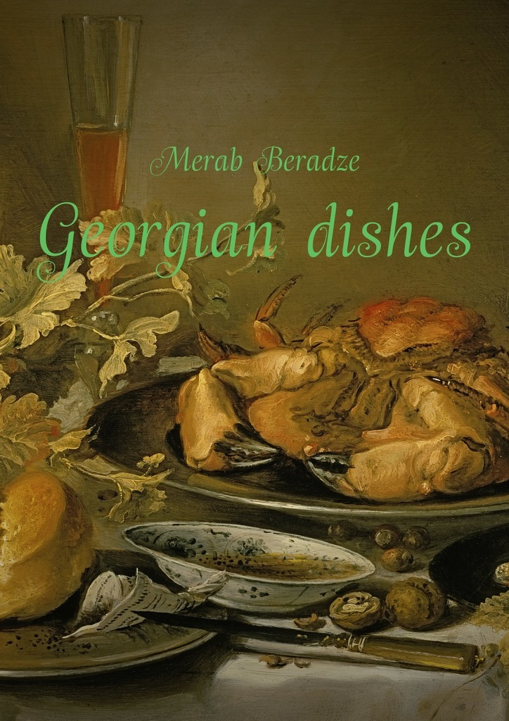 Merab Beradze Georgian dishes russian phrase book