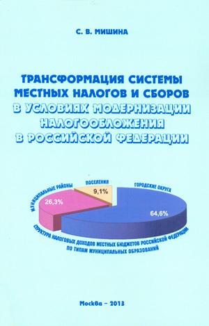 Светлана Мишина - Трансформация системы местных налогов и сборов в условиях модернизации налогообложения в Российской Федерации