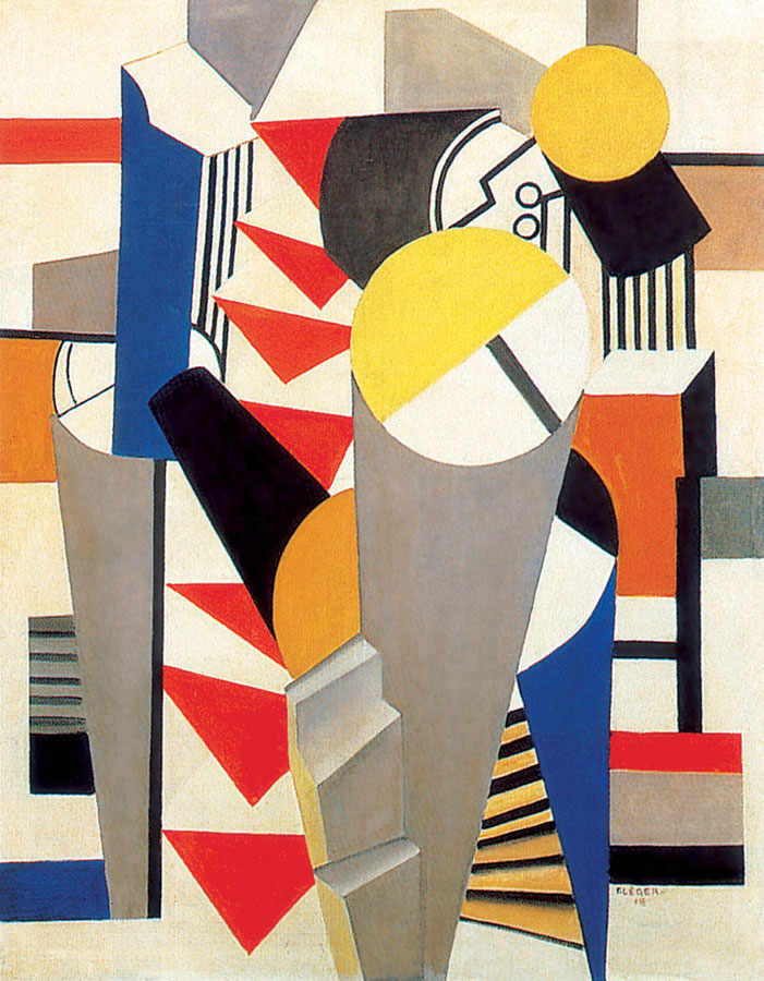 the element of life in cubism and impressionism