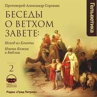 Протоиерей Александр Сорокин - Беседы о Ветхом Завете. Выпуск 2