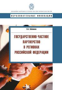 Кабашкин, В. А.  - Государственно-частное партнерство в регионах Российской Федерации